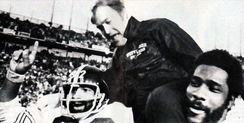 Hall of Fame inductee, 1993; only coach to win four Super Bowls; 193 wins.