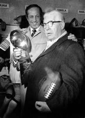 Inducted to the Hall of Fame, 1969; founded the Pittsburgh Steelers and one of the most beloved men in football history.