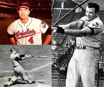 Jim Gentile became the Orioles first power-hitting slugger in 1961