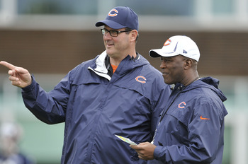 Lovie Smith and Mike Tice