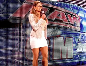 "Eve Torres, the hottest ""executive"" in WWE. (Image courtesy of WWE.com)"