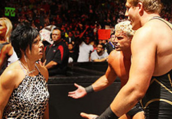Jack Swagger and Dolph Ziggler look to Vickie for career advice: