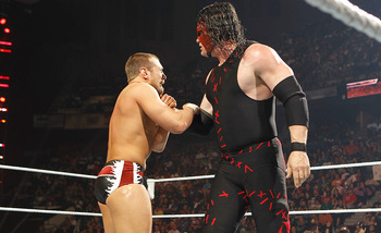 Daniel Bryan exacts revenge after being attacked by Kane on Raw. (Image courtesy of WWE.com).