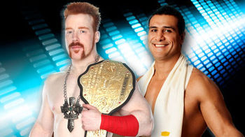 Sheamus vs. Alberto Del Rio at No Way Out, but will it stay that way? (Image courtesy of CageSideSeats.com)