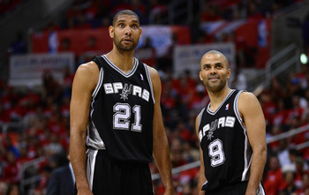 Is the current playoff run the final journey for Duncan and Parker?