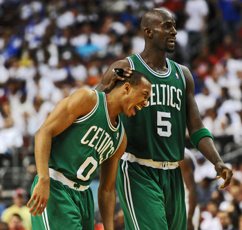 The Celtics would love to keep Garnett around to provide guidance to young players such as Avery Bradley.
