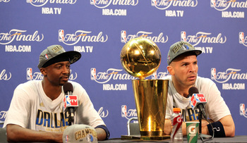 Jason Terry paired with Jason Kidd to win a title in Dallas. Both could be gone next season.
