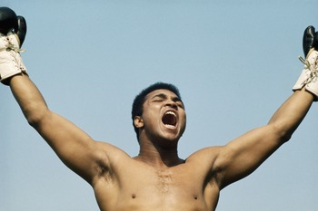 The incomparable Ali.