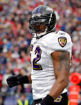Ray Lewis is unquestionably the leader of this team