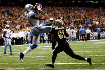 Calvin Johnson is arguably the best receiver in football