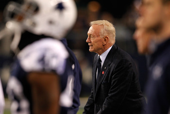 What does Jerry Jones think of his chances to compete in the NFC East this year?