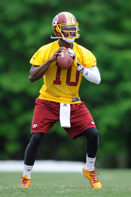 RG3 will be one of the biggest stories in the NFL