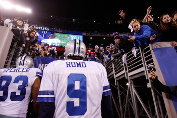 Tony Romo: I have nothing to say...