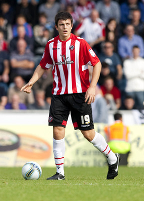 Sheffield United defender Harry Maguire