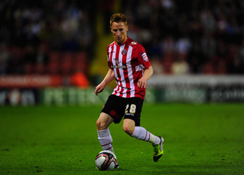 Sheffield United midfielder Stephen Quinn
