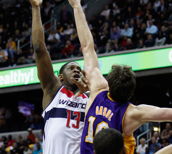 Kevin Seraphin was a lone bright spot for Washington as the past season concluded.