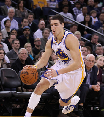 A good impression. Klay Thompson was starting by the end of the season.