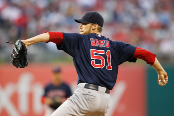 Daniel Bard may have to move back to the bullpen.