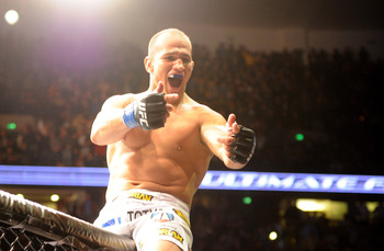 Junior dos Santos and Cheick Kongo are the only two guys to really hit Velasquez. Velasquez got in trouble in both.