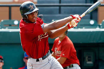 Georgia prep OF Byron Buxton is one of the top players in the 2012 draft.