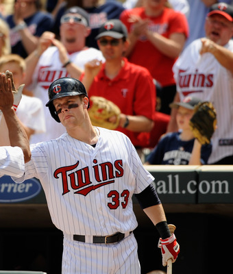 Twins first baseman Justin Morneau