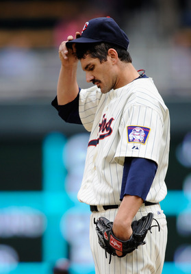 Twins pitcher Carl Pavano