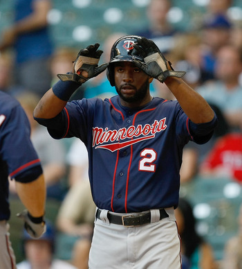 Twins center fielder Denard Span