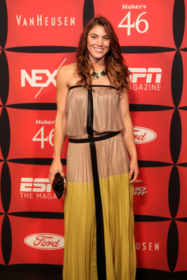 INDIANAPOLIS, IN - FEBRUARY 03:  Soccer player Hope Solo attends ESPN The Magazine's 'NEXT' Event on February 3, 2012 in Indianapolis, Indiana.  (Photo by Robin Marchant/Getty Images for ESPN)