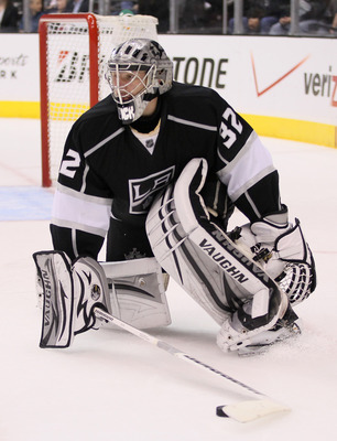 Quick's .946 save percentage has been key for the Kings.
