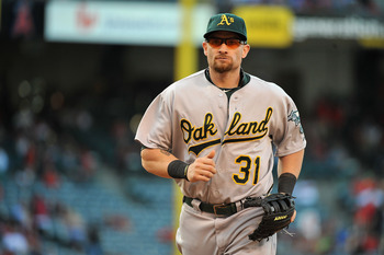 Gomes hasn't been great, but manager Bob Melvin has the task now of juggling three guys who play the same position