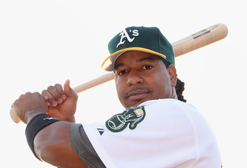 Manny might be part of the answer to the A's offensive woes.