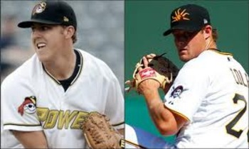 Jameson Taillon and Gerrit Cole
