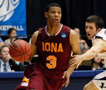 Scott Machado of Iona may find himself with an NBA job this fall.