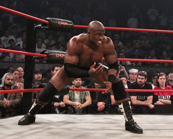 Now seems like a good time for Bobby Lashley to come back to TNA