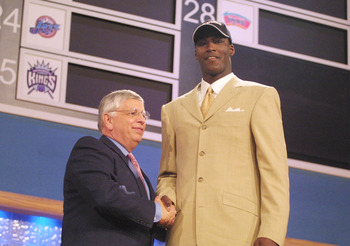 The top pick in 2001 never really became much more than a role player.
