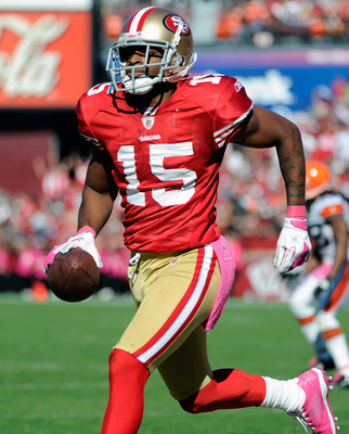 Michael Crabtree enters his fourth season with the 49ers.