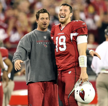 Cardinals QBs Kevin Kolb and John Skelton (19)