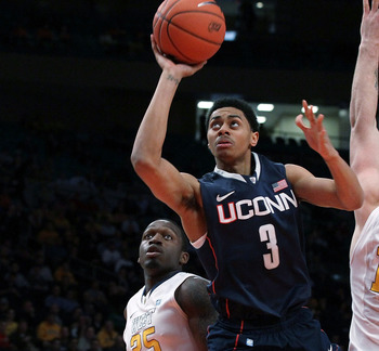 Jeremy Lamb of UConn had higher stock in the lead-up to the 2011 draft.
