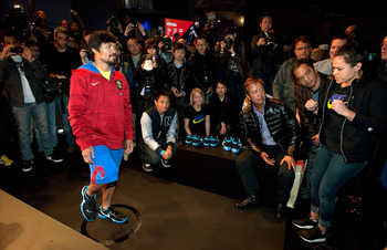 Simply put, Manny Pacquiao is in high demand