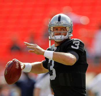 Carson Palmer will have OTA's and Training Camp for the 2012 Season