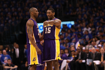 The exit is that way, Kobe?
