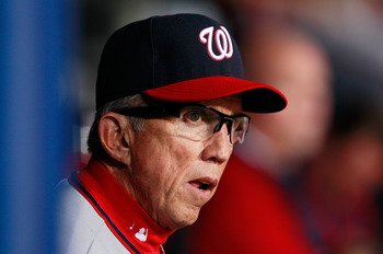 Davey Johnson continues to move pieces around, helping the Nationals to regain first place in the NL East.