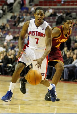 First-round pick Brandon Knight helped lead the Pistons