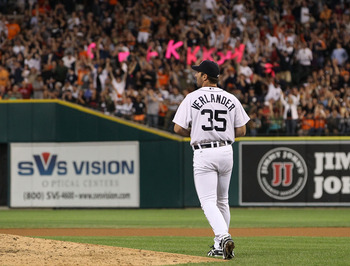 Verlander's one-hitter, May 18th, 2012 vs. Pittsburgh Pirates