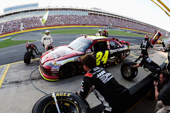 Jeff Gordon finally earned a good run Sunday night