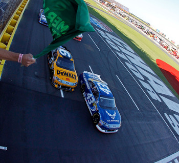 Aric Almirola's 16th-place finish continued a winless drought for Pole-sitters