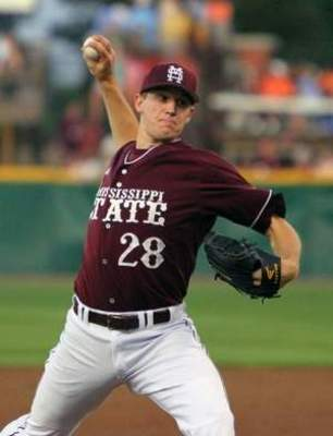 Chris Stratton is a power pitcher from Mississippi State