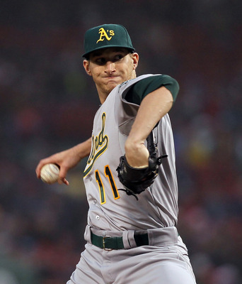 Meet Jarrod Parker, future ace of the Oakland A's pitching staff.
