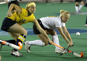 Field hockey isn't traditionally a popular sport in the U.S.