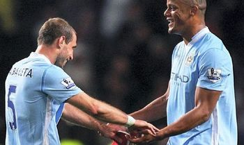 Man City duo
